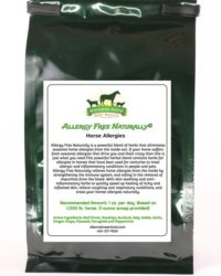 Allergy Free Naturally for Allergies in Horses