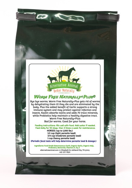 Private: Worm Free Naturally Plus-Natural Dewormer for Horses 25lbs