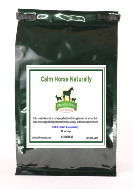 Calm Horse Naturally-Calming Supplement for Horses